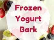 Healthy Frozen Yogurt Bark Kids
