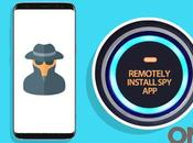 Install Software Cell Phone Remotely?