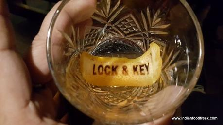 Lock & Key, Cross Point Mall, Gurgaon: You can't hush up about it!