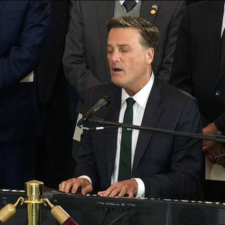 "Michael W. Smith ""Just As I Am"" At Rev. Billy Graham's Capitol Service"