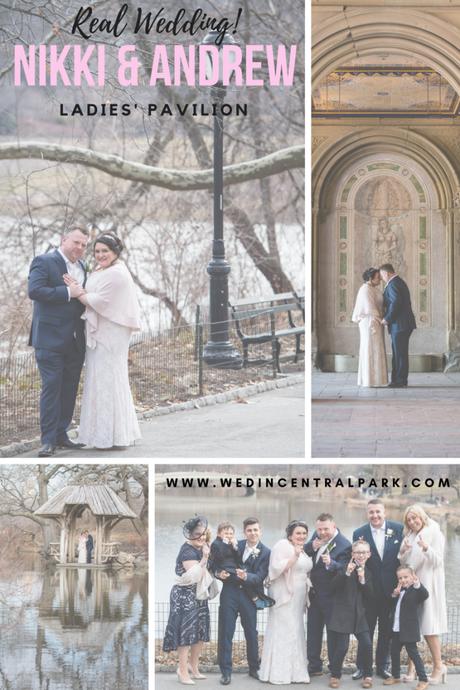 Nikki and Andrew's Wedding in the Ladies' Pavilion
