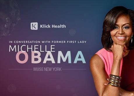Michelle Obama Praises The Next Generation At Klick Health Event