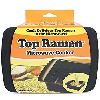Image: Top Ramen Rapid Cooker | Microwave Ramen in 3 Minutes | BPA Free and Dishwasher Safe