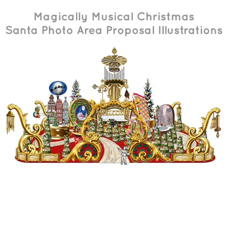 Santa-Photo-Area-Jay-Montgomery-Magically Musical Christmas