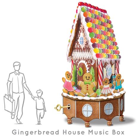 Santa-Photo-Area-Jay-Montgomery-Gingerbread House Music Box