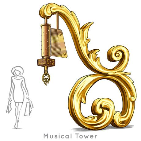 Santa-Photo-Area-Jay-Montgomery-Musical Tower