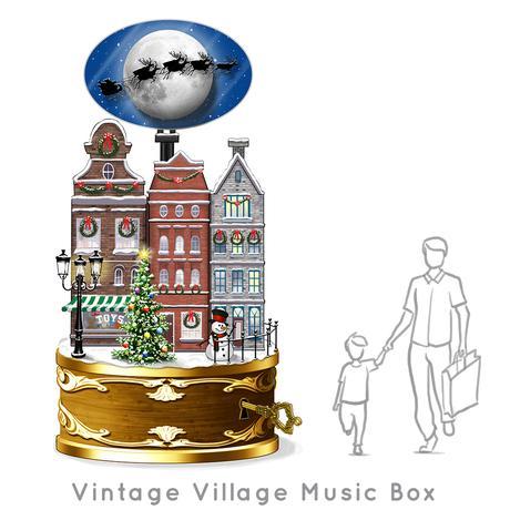 Santa-Photo-Area-Jay-Montgomery-Vintage Village Music Box