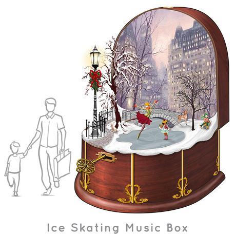 Santa-Photo-Area-Jay-Montgomery-Ice Skating Music Box