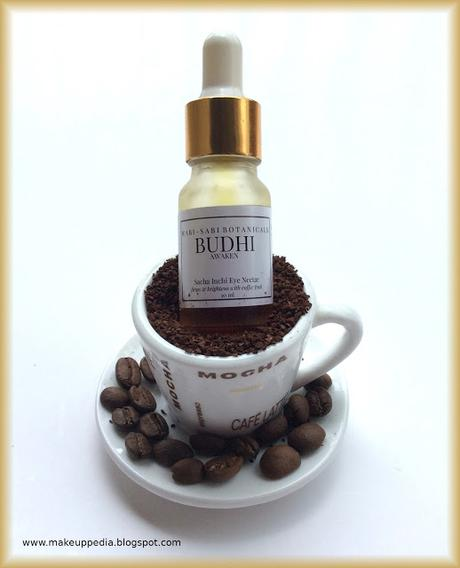 Wabi Sabi Botanical's - Budhi Sacha Inchi eye nectar review