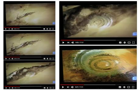 Electric Universe - EYE OF THE SAHARA - an electric discharge feature?