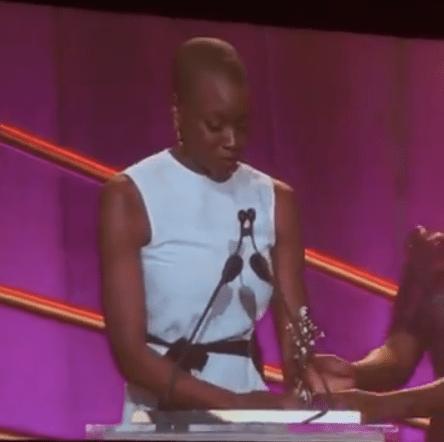 Danai Gurira Honors Susan L. Taylor In Black Women In Hollywood Speech