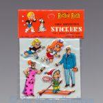 Richie Rich Three Dimensional Stickers, short red Mr. Rich variant front view