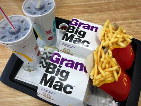 Food Review: Grand Big Mac from McDonald's
