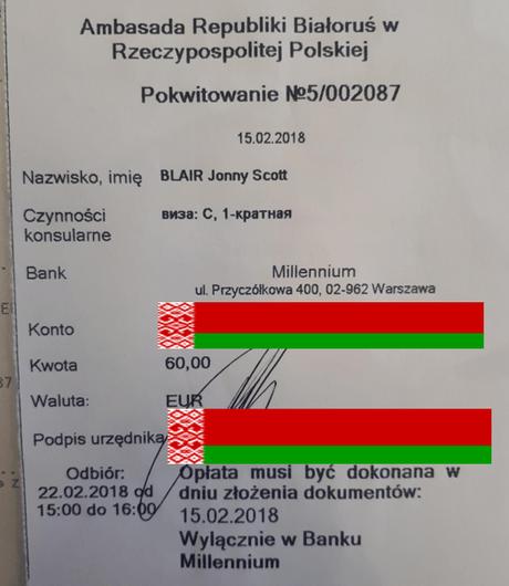 How to get a Belarus Visa in Warsaw