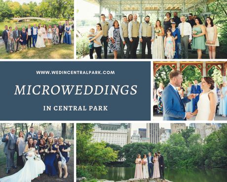 Microweddings in Central Park