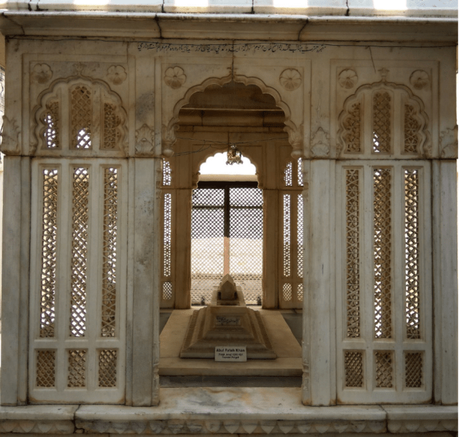 A view of one of the Paigah Tombs in Hyderabad