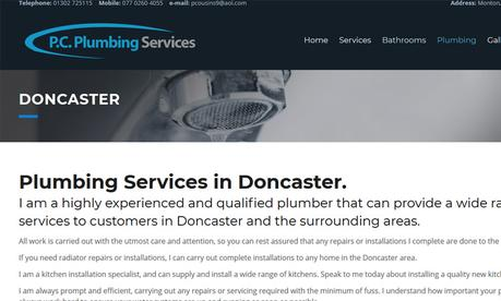 Local SEO Audit of PC Plumbing Services in Doncaster