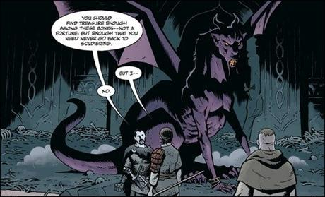 Preview: Koshchei The Deathless #3 by Mignola & Stenbeck (Dark Horse)
