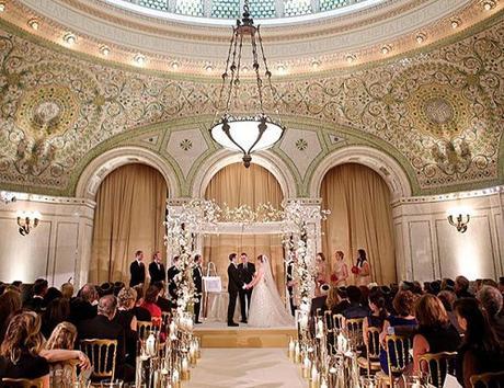 wedding ceremony order bride and groom amazing church