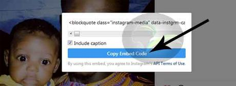 Easy Way To Embed Instagram Post To Your Blog Post