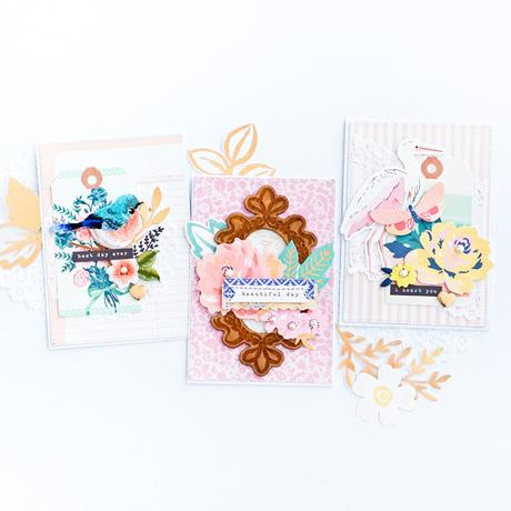 Crate Paper Design Team : Cards with Dimension