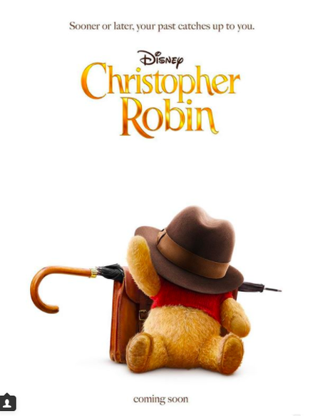 """Trailer: Disney's """"Christopher Robin"""" Introduces Winnie The Pooh"""