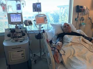 3/6/2018 Brian's Apheresis at SCCA for CAR-Ts to treat CLL