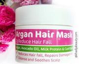 MamaEarth Argan Hair Mask |Reduce Hairfall| Silky