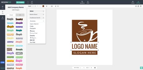DesignEvo Create Online Logos