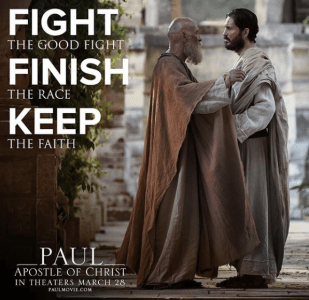 [WATCH]  'Paul Apostle Of Christ' In Theaters March 23rd