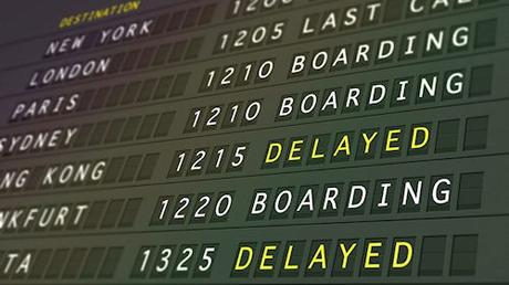 Which are the airlines with the most delays and cancellations?