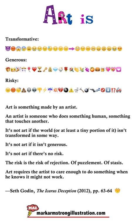 All Art Involves Risk– And We're All Called To Be Artists