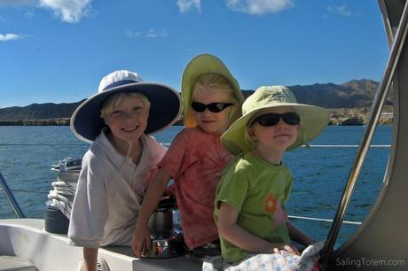 kids hats sunglasses boat
