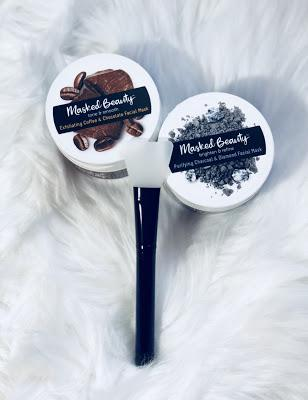 Chocolate, Coffee Masks by Masked Beauty