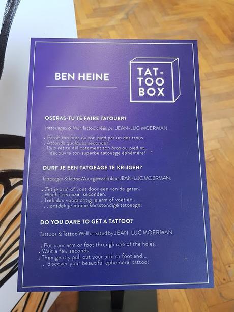Art Truc Troc 2018 Ben Heine Tattoo Box Bozar Jean Luc Moerman
