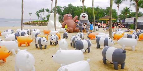 Hang Out With We Bare Bears At Sentosa This March Holiday