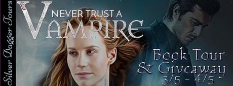 Never Trust a Vampire by Vivian Lane