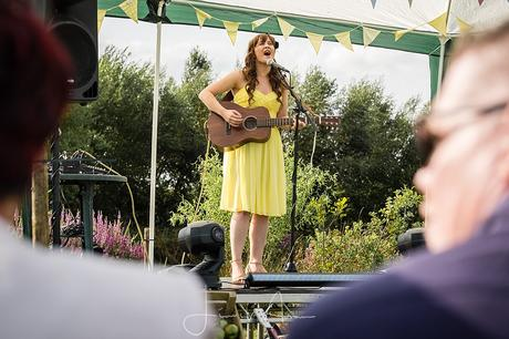 Open Mic stage at Festival Wedding