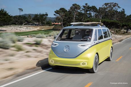 It's official: The VW Bus is back, and it's electric (Photos)