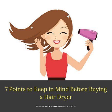 Buying a Hair Dryer