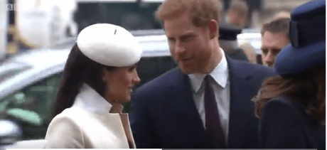 Meghan Markle Sings 'God Save The Queen' + Choir Sings 'Bridge Over Troubled Waters'