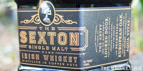 The Sexton Single Malt Irish Whiskey Label