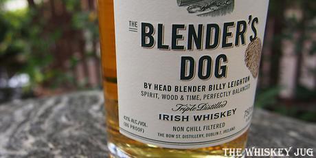 Jameson Blender's Dog Label