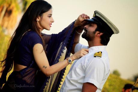 Prewedding Ideas, Sailors Wife, Sailor, Navy uniform, couple photoshoot, couple photo, royal photography, classy couples, What to wear in prewedding, Merchant Navy COuple