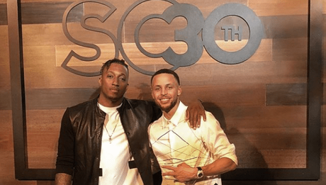 Lecrae Spotted At  Steph Curry Surprise 30th Birthday Party