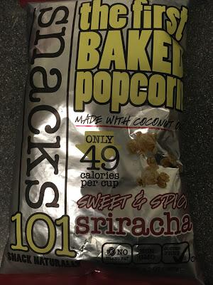 Today's Review: Snacks 101 Sriracha Popcorn