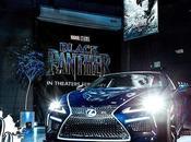 Black Panther Lexus Show