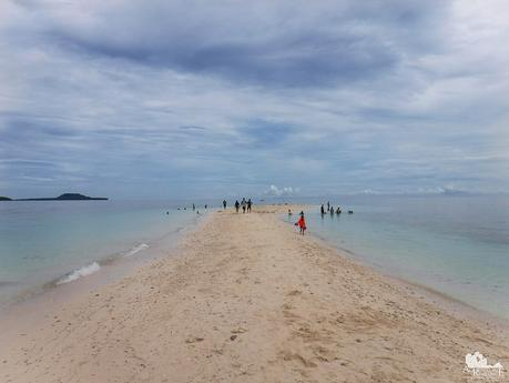 Sandbar at Digyo Island