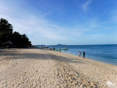 White Beach at Digyo Island