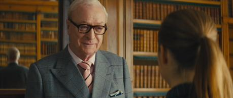 Kingsman: The Secret Service – Michael Caine's Gray Windowpane Suit